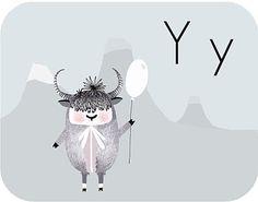 Diaper Style Memoirs: puziki #balloon #illustration #yak