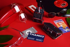 Thanku Eyewear Branding - Mindsparkle Mag Alejandro Gavancho designed the branding for Thanku – a glasses brand with more than 10 years on the market. #logo #packaging #identity #branding #design #color #photography #graphic #design #gallery #blog #project #mindsparkle #mag #beautiful #portfolio #designer