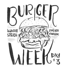 burger week sketch