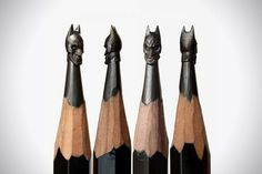 Amazing Pencil Micro Sculptures by Salavat Fidai #Pencil Art #Sculpturing #Micro Art