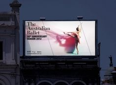 The Australian Ballet 50th Anniversary | 3 DEEP #design #graphic #ballet #direction #photography #art #typography