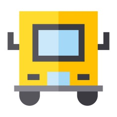 See more icon inspiration related to bus, transportation, school bus, public, vehicle and transport on Flaticon.