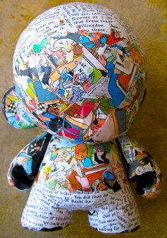 G | artonegalleryinc.com | SOLD #collage #munny