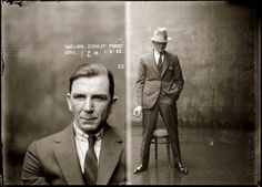 Mugshots of Dapper Criminals, 1920s | Vintage Me Oh My #americana #vintage #photograph #gangster