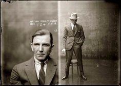 Mugshots of Dapper Criminals, 1920s | Vintage Me Oh My #americana #vintage #photograph #gangster