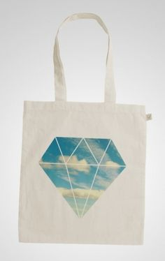 Sofia Ling – Grafisk Design #tote #sky #diamond #design #graphic #totebag