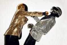 daft punk gisele wsj magazine 2 #punk #helmets #daft #photography #terry #richardson #fashion