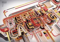 Typography 11. by Peter Tarka, via Behance #layers