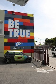 NSW Be True_Wall | Flickr - Photo Sharing! #type #nike #design #opolis