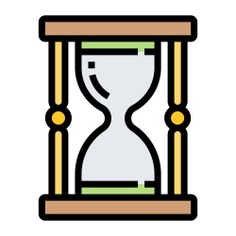See more icon inspiration related to hourglass, wait, clock, time, time and date, ui, Tools and utensils, loading, waiting and interface on Flaticon.