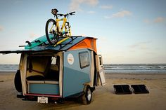 Cricket Pop-Up Trailer | Hi Consumption #beach #car #trailer