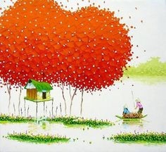 Vivid Paintings by Phan Thu Trang   Cuded #thu #vivid #trang #phan #paintings