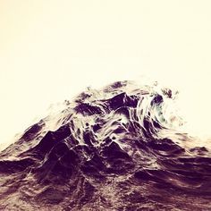 High Tide #white #water #black #and #sculptural