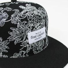 Float captain fine print hat #fashion #pattern #surf #floral #hats