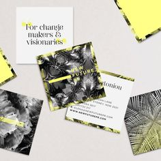 Branding and website by www.vanessavanselow.com #sustainable #business #branding #design #eco #layout #cards