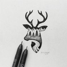 Little Hybrid Illustrations by Sam Larson