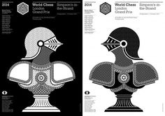 World Chess Posters designed by John Rushworth #vv
