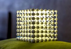 3D Printed Cubic Light by Mariam Ayvazyan - lights, lamp, lighting #design, #lighting