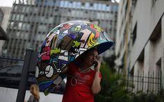 Street art creative phone booth