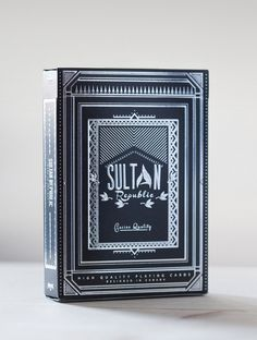 Sultan Republic #tricks #emboss #embossing #modern #deck #playing #magic #shiny #cards #foil #new