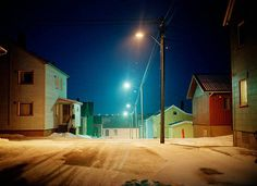 Artist: Corey Arnold, Title: Vardo Street, 2007 click to close window #night #photography #street