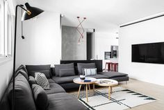 240 sqm Duplex Apartment Transformed into a Contemporary Colourful Family Space