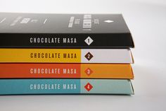 Masa Chocolate #packaging #chocolate #typography