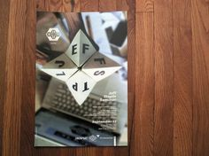 JEFF STAPLE & SHHO - The SHHO #layout #poster #staple