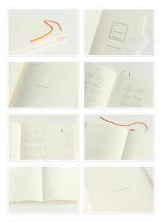 MD note diary - Midori #white #note #book #diary #paper