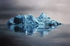 Pastel Icebergs by Zaria Forman 3 #painting #sea #art