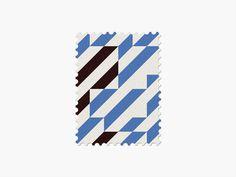 Uruguay #stamp #graphic #maan #geometric #illustration #minimal #2014 #worldcup #brazil