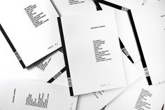 Process Journal: Edition One - Hunt Studio | Multi-disciplinary design studio | Melbourne