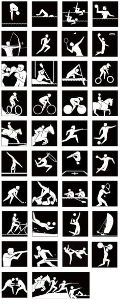 Creative Review   2012 Olympics pictograms launched