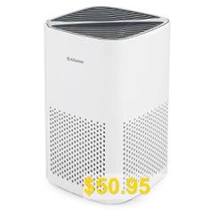 Alfawise #P1 #HEPA #Mini #Desktop #Air #Purifier #- #WHITE
