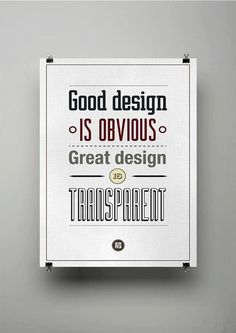 Inspiring Quotes about Design - Poster
