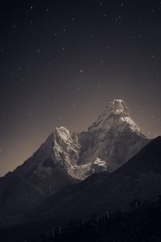 Piccsy :: picc #night #photography #mountains #stars