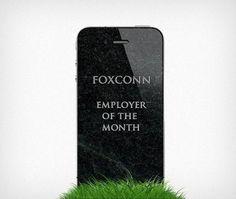 foxconnw.jpg (JPEG Image, 800x677 pixels) #granite #apple #grass #foxconn #grave #black #iphone