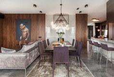 Four-Room Apartment in the Center of Minsk / Interra Studio