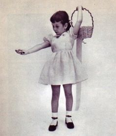 Google Image Result for http://4.bp.blogspot.com/_3_0bMidBZR4/S4gw_H5hJfI/AAAAAAAACg8/_VPO6nPd-JY/s400/little_girl_dress_crop.jpg #white #girl #1950 #black #and #socks #dress