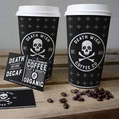 A packaging concepts for Death Wish Coffee Co #coffee #packaging #branding #logodesign