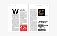 'MIT Technology Review' — Pentagram