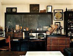 The Pursuit Aesthetic #interior design #wood #space #antique