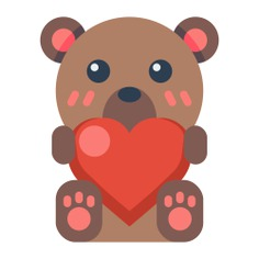 See more icon inspiration related to bear, kid and baby, teddy bear, puppet, fluffy, childhood, children, animals and animal on Flaticon.