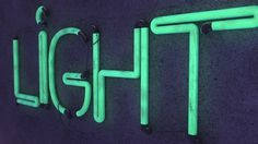 4c509214ffb67d927820837b7f5d5108.jpg (600×338) #typography #design #glow #light #neon