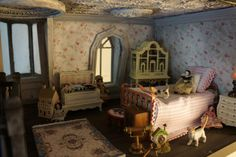 bed #miniature #diorama #dollhouse