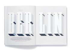 Elephant Issue 5 Spread #type #magazine