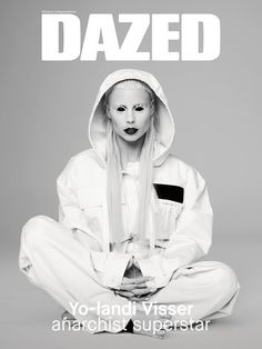 DC237_Cover #yo-landi visser #die antwoord #magazine #cover #dazed #music #south africa #rap-rave #marc jacobs