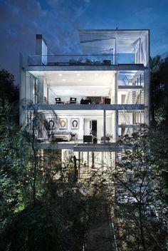 Vertical House in Dallas