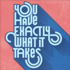 Exactly What It Takes by The Quiet Society #type #retro