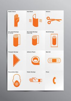 First Aid Kit on Behance #redesign #first aid kit #kevin harald campean